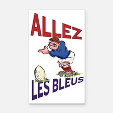 French Rugby - Kicker Rectangle Car Magnet