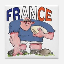 French Rugby - Forward 1 Tile Coaster