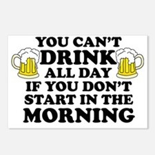 Drink All Day Postcards (Package of 8)