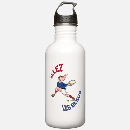 French Rugby - Back Water Bottle