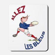 French Rugby - Back Mousepad