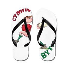 Welsh Rugby - Back Flip Flops