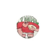 Welsh Rugby - Forward 1 Mini Button