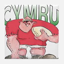 Welsh Rugby - Forward 1 Tile Coaster