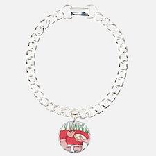 Welsh Rugby - Forward 1 Charm Bracelet, One Charm