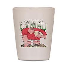 Welsh Rugby - Forward 1 Shot Glass