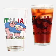 Italian Rugby - Forward 1 Drinking Glass