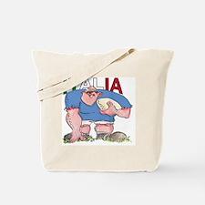 Italian Rugby - Forward 1 Tote Bag