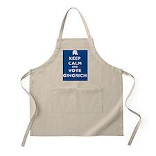 Keep_Calm_Gingrich1Sq Apron