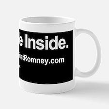Dogs Against Romney bumber-corgi-I ride Mug