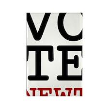 VoteNewt1 Rectangle Magnet