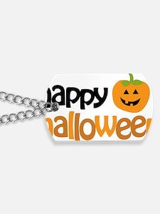 Happy Halloween Dog Tags