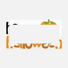 Happy Halloween License Plate Holder