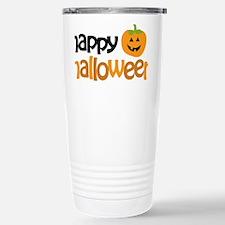 Happy Halloween Stainless Steel Travel Mug