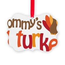 Mommys Lil Turkey Ornament