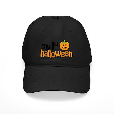 My 1st Halloween Black Cap