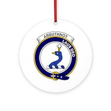 Arbuthnot Clan Badge Round Ornament
