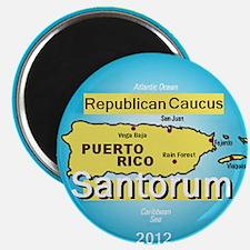 Santorum PUERTO RICO Magnet