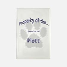 Plott Property Rectangle Magnet