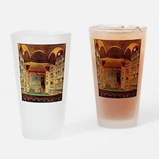 Drury Lane theatre Drinking Glass