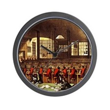 London Post Office 1809 square Wall Clock