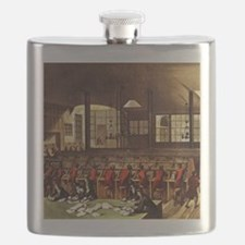 London Post Office 1809 square Flask