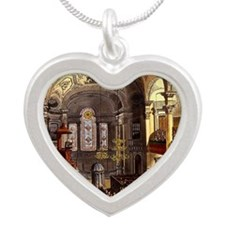 St-Martins-in-the-Fields Silver Heart Necklace