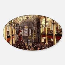 St-Martins-in-the-Fields Sticker (Oval)
