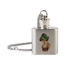 Regency  Flask Necklace