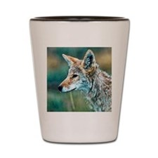 coyote Shot Glass