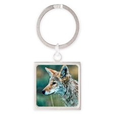coyote Square Keychain
