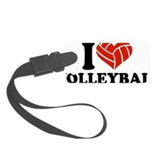 volleyball_i_heart Luggage Tag