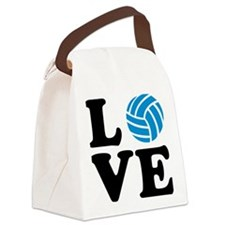 volleyball_love_ball Canvas Lunch Bag