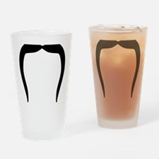 mustache_fu_manchu Drinking Glass
