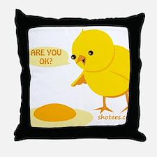 are you ok Throw Pillow