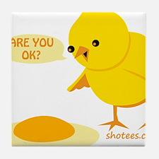 are you ok Tile Coaster