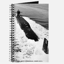 jmarshall ssbn framed panel print Journal