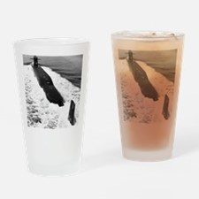jmarshall ssbn framed panel print Drinking Glass