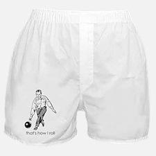 BowlingRollMEN Boxer Shorts