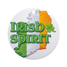 irishspirit Round Ornament