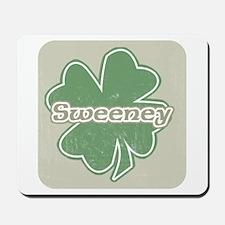 """""""Shamrock - Sweeney"""" Mousepad"""