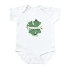 """Shamrock - Sweeney"" Infant Bodysuit"