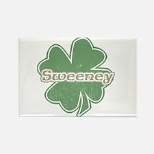 """Shamrock - Sweeney"" Rectangle Magnet"
