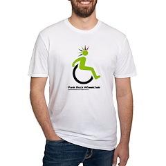 Punk Rock Wheelchair for Him Shirt