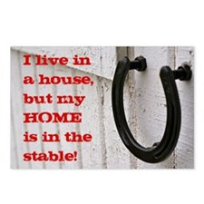 My Home is In the Stable Postcards (Package of 8)
