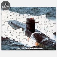 jmonroe large framed print Puzzle
