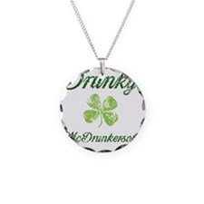 Im Drunky Necklace Circle Charm