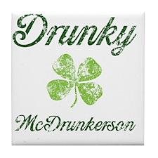 Im Drunky Tile Coaster