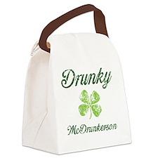 Im Drunky Canvas Lunch Bag