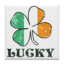 Irish Lucky Tile Coaster